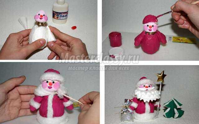 Сшить дед мороза своими руками