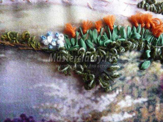 Турецкий шов в вышивке