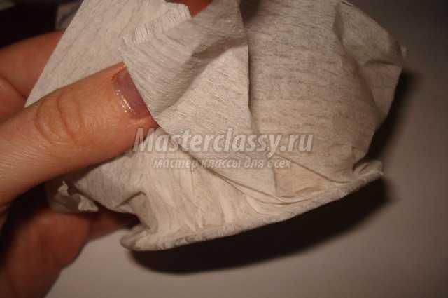 Елка из ткани
