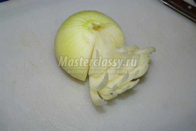 карвинг. Букет из овощей