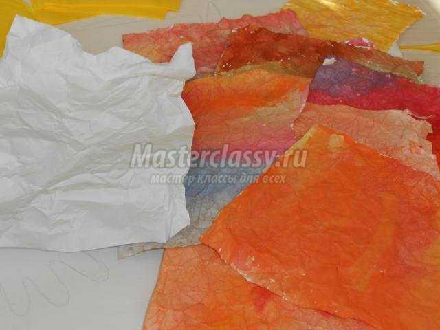 осеннее панно из разных материалов в подготовительной группе детского сада