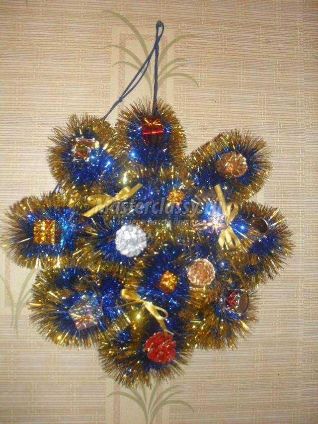 новогодние поделки елки мк из пластмассовых бутылок