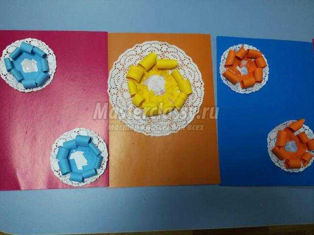 объемная открытка из бумаги для мамы