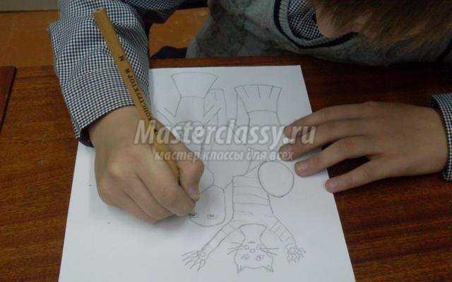 рисунок гуашью