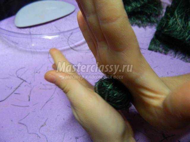 топиарий из сизали своими руками для мамы