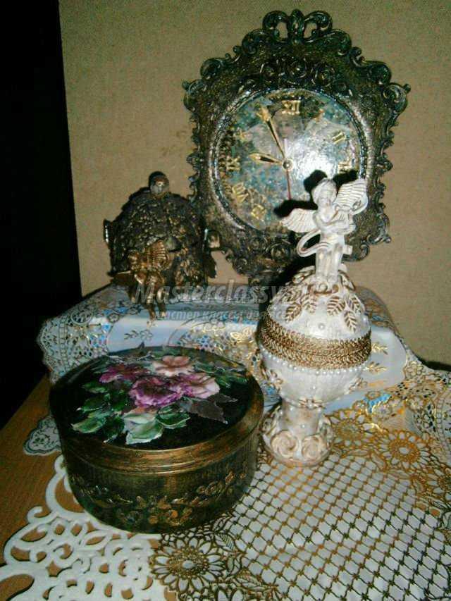 шкатулка своими руками из скорлупы кокоса. Ангел