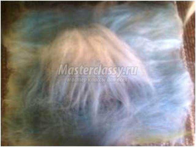 панно в технике мокрое валяние из шерсти