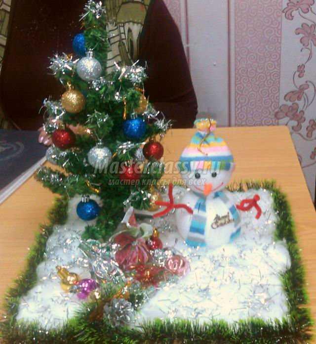 Поделки с рождеством детские