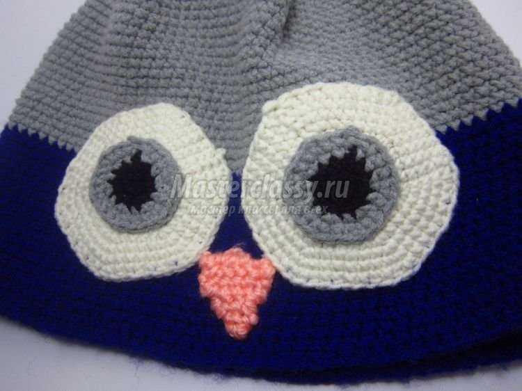 шапка-сова своими руками