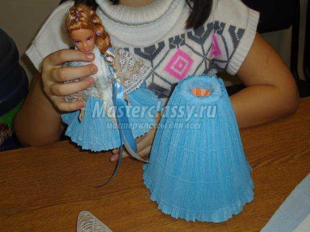 Как сделать снегурочку из куклы своими руками фото 175