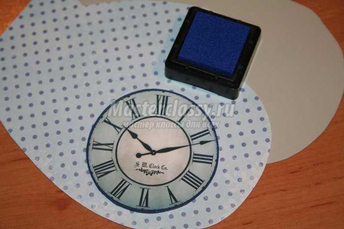 Елочная игрушка - открытка на Новый год. Рукавичка. Мастер-класс с пошаговыми фото