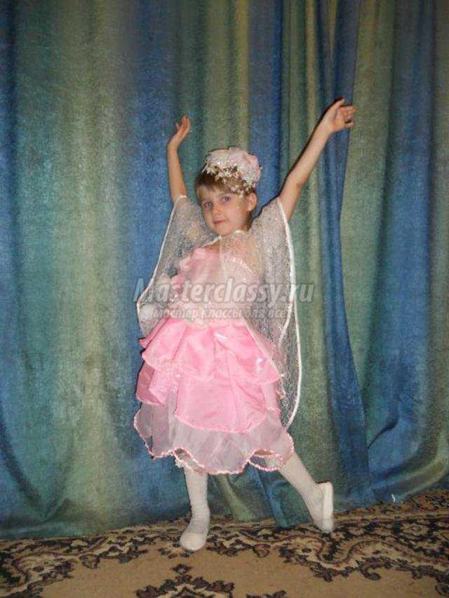 карнавальный костюм для девочки. Королева роз