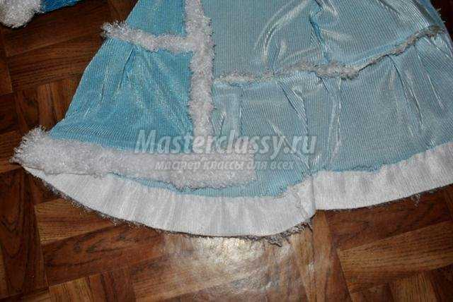 новогодний костюм Снегурочки для девочки 1,5-2 года