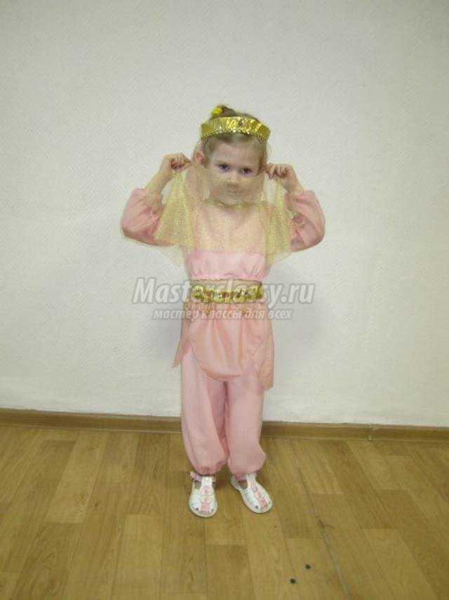 восточный костюм для девочки 4-х лет