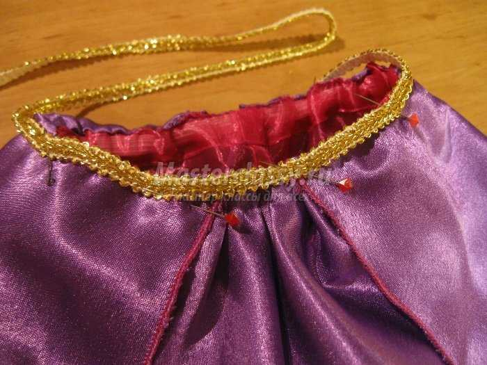 Восточный костюм для девочки 3-4 лет своими руками