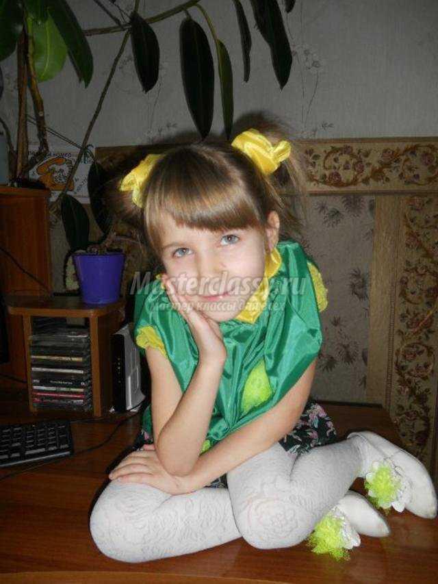 костюм кактус для девочки