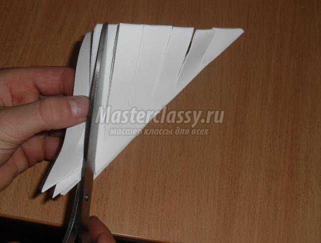 гирлянда из бумаги своими руками на Новый год