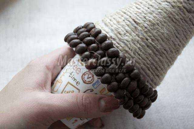 кофейная елка своими руками