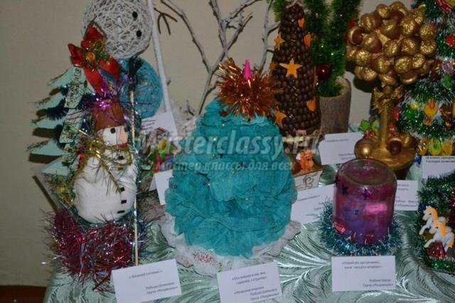 новогодние поделки для детского сада своими руками