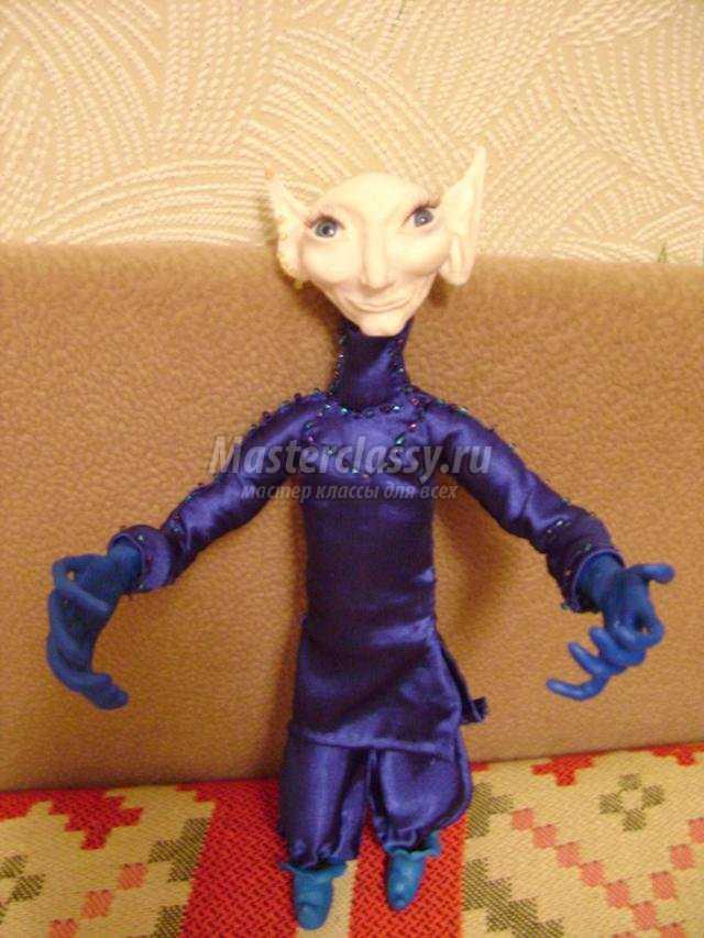 куклы из запекаемой полимерной глины. Малыш
