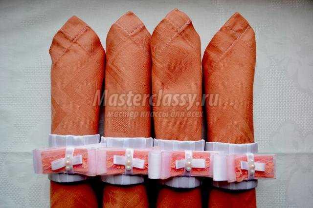 кольца для салфеток своими руками