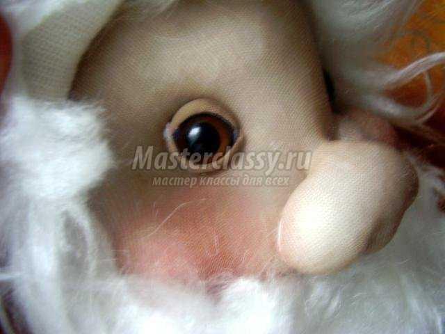 дедушка Мороз из ткани своими руками