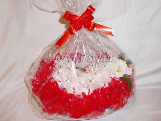 подарки на День Святого Валентина. Корзина с Рафаэлло