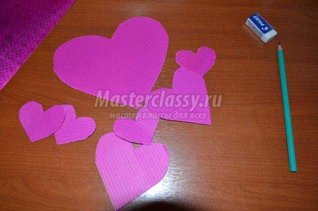 влюбленные мышки из бумаги ко Дню Святого Валентина
