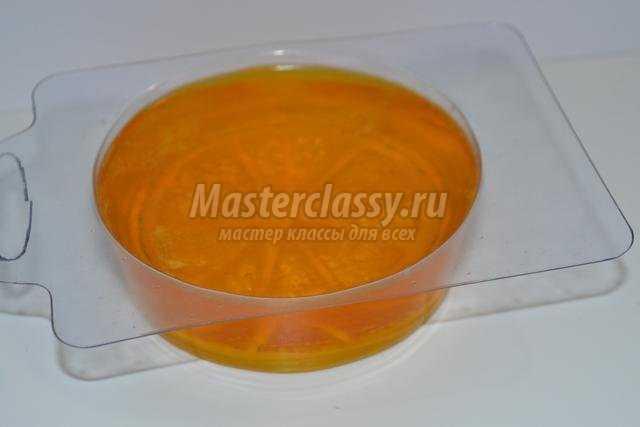 противовоспалительное мыло своими руками. Апельсин