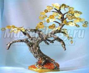 Дерево из денег как сделать фото 32