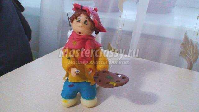 куклы из холодного фарфора. Художник