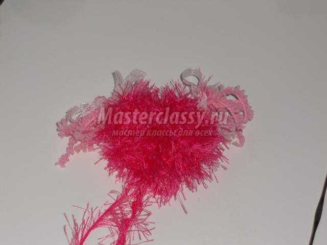 вязаные сердечки крючком ко Дню Святого Валентина