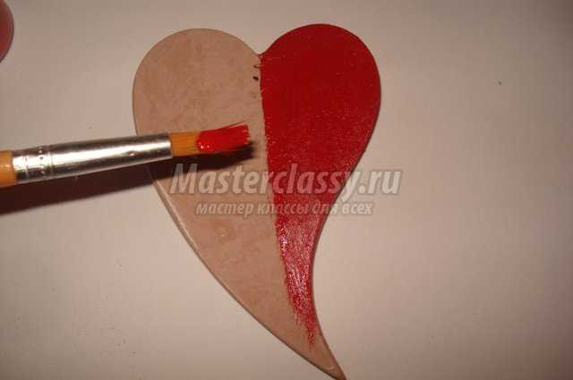 Винтажное сердце своими руками