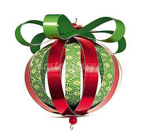 шар на рождество
