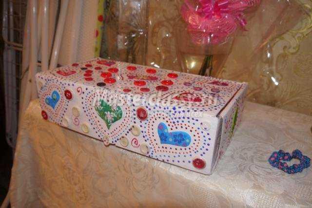 коробочка для мелочей своими руками