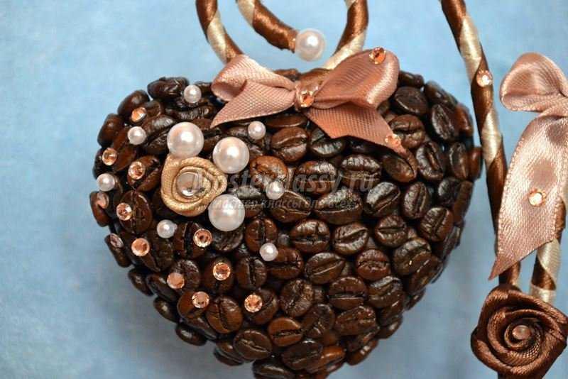 Дерево из кофейных зерен своими руками дерево сердце