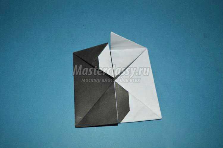 оригами ко Дню Святого Валентина. Инь-янь