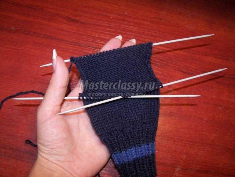 МК. Вязание спицами. Носочки