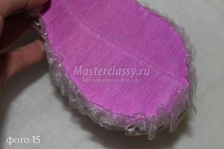 композиция из конфет в технике свит-дизайн. Туфелька