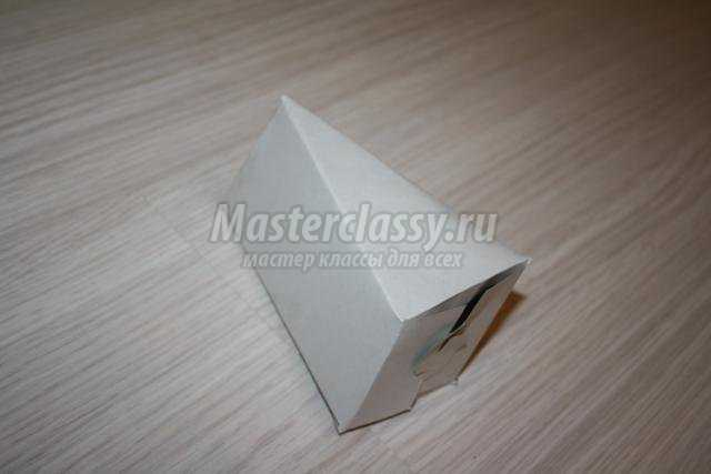 упаковка для подарка. Торт из картона