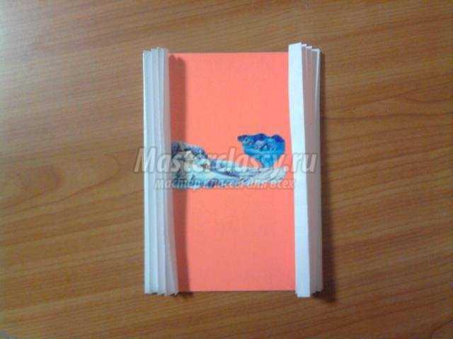 новогодняя открытка своими руками в технике 3D