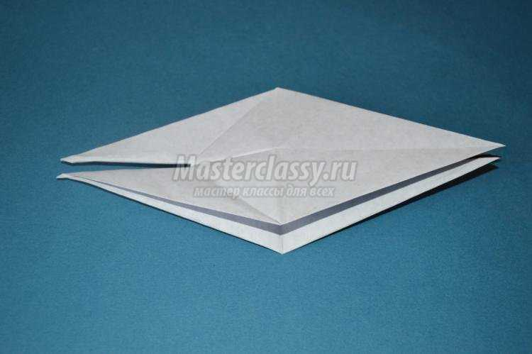 оригами для детей. Белая ворона