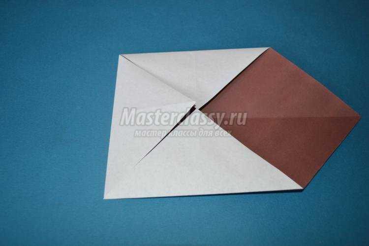 оригами для детей. Сова своими руками