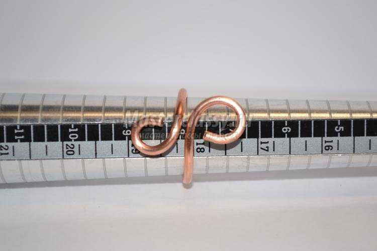 wire Wrap. Кольцо из проволоки с ониксом
