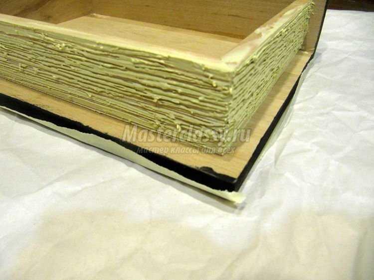 книга шкатулка декупаж фото