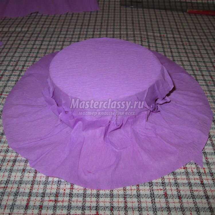Конфетная шляпка в подарок