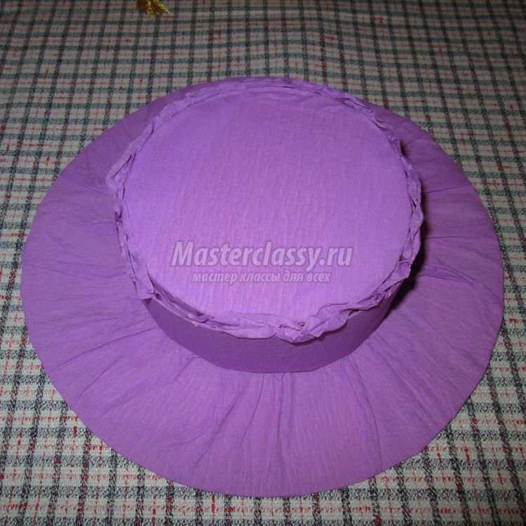 Как сделать шляпку мастер класс 86