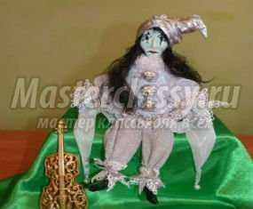 Миниатюрная кукла своими руками фото 499