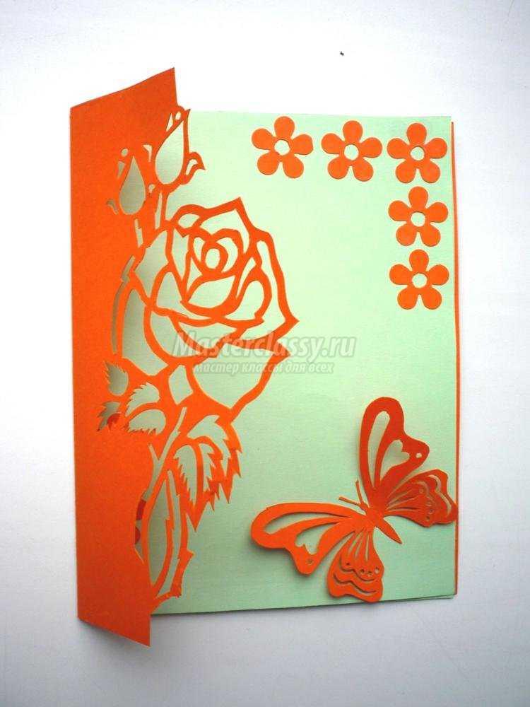 Открытки свадьбу, открытки киригами мастер класс