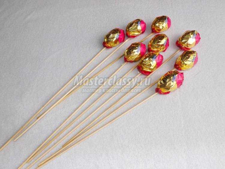 Подарок на 8 марта букет своими руками искусственные цветы купить в спб розницу
